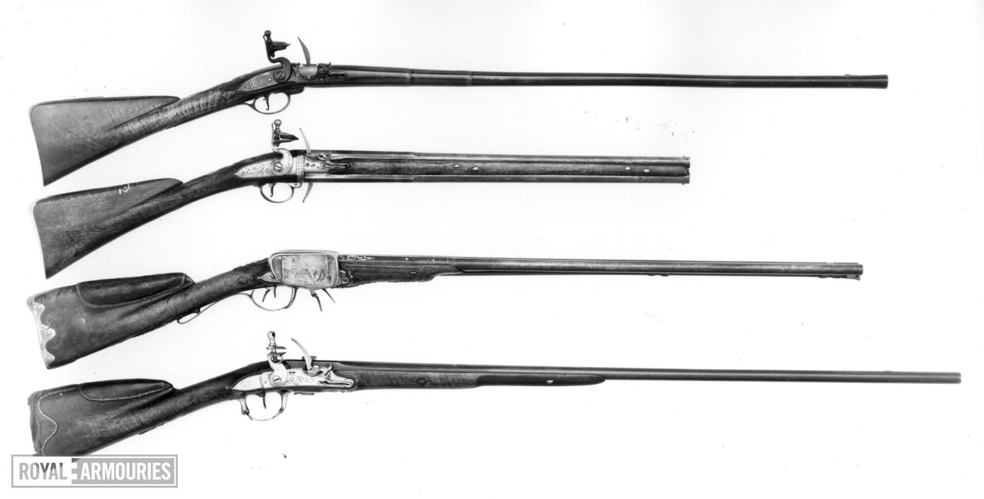 Flintlock gun - By Rives A Paris Montalembert system
