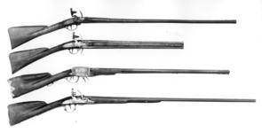Thumbnail image of Flintlock gun - By Rives A Paris Montalembert system
