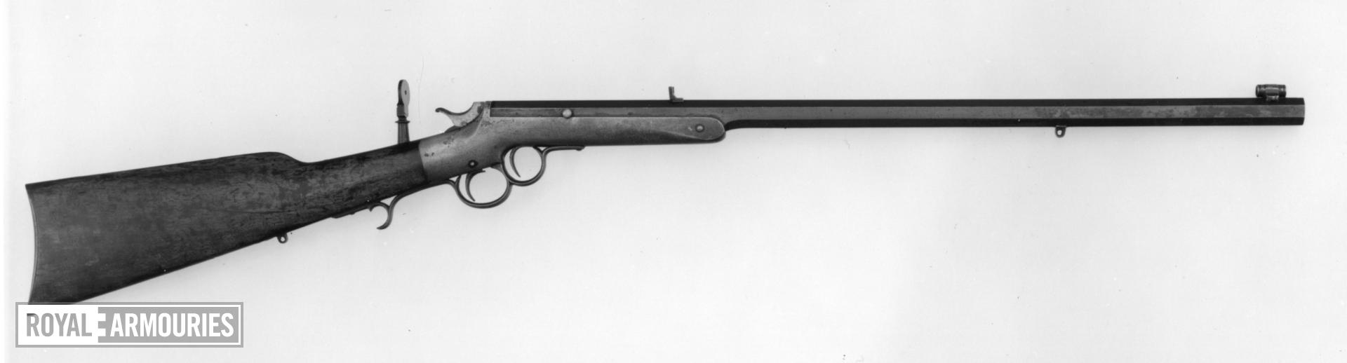 Rimfire target rifle - By Frank Wesson