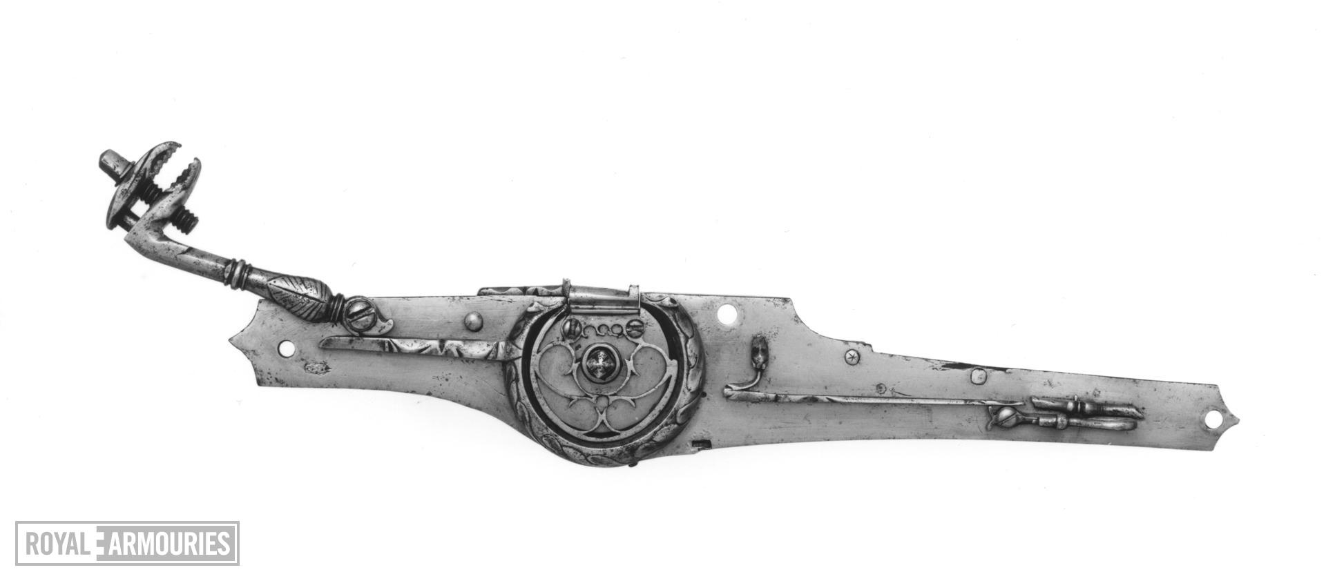 Wheellock superimposed rifle