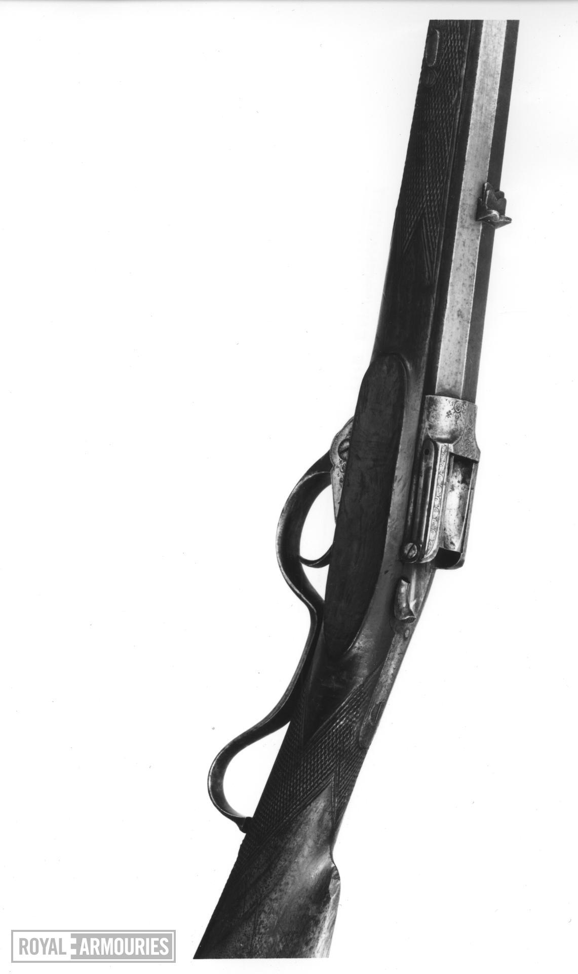 Centrefire breech-loading rifle - Bailey's Patent Rook and Rabbit rifle