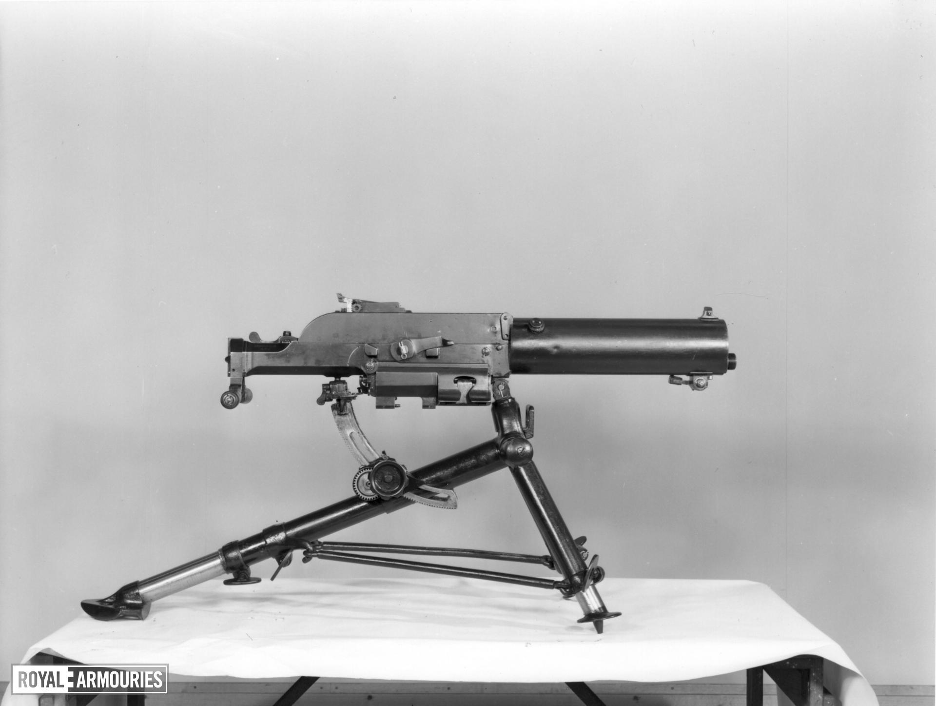 Centrefire automatic belt fed machine gun - Schwarzlose Model 7/12