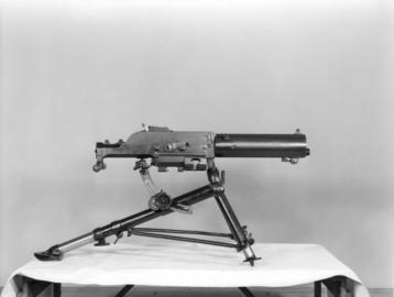 Centrefire automatic belt fed machine gun