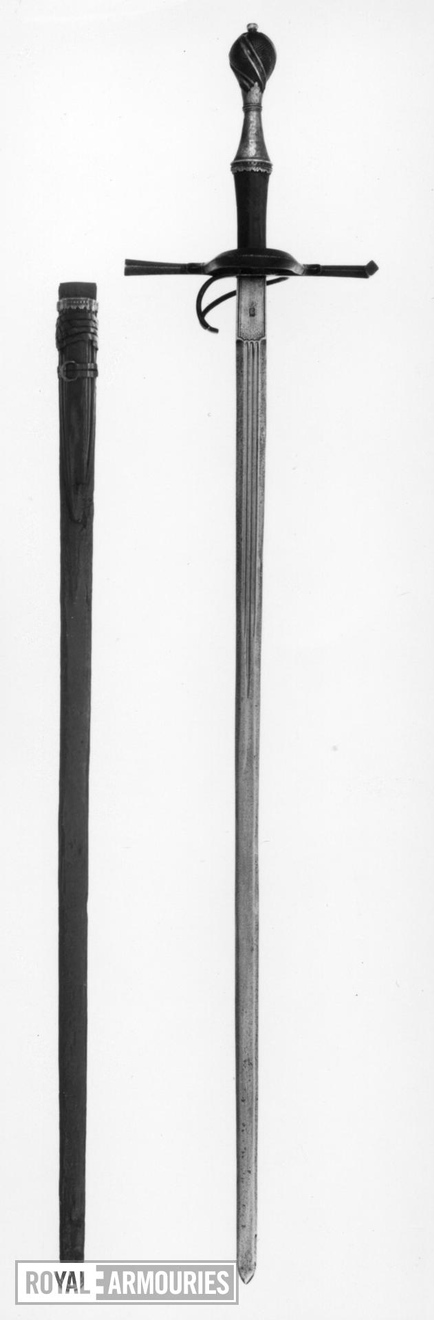 Sword and Scabbard By the Dresden forger Anton Konrad [d.1938]