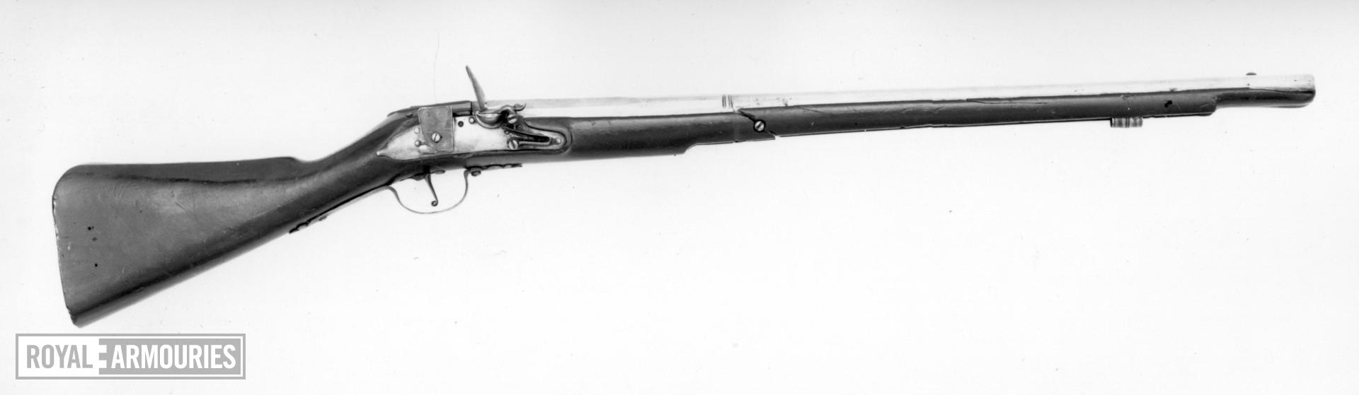 Flintlock military carbine