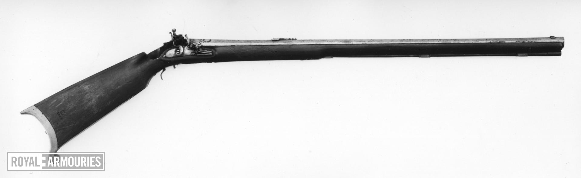 Flintlock muzzle-loading target rifle - By Jos Schuller