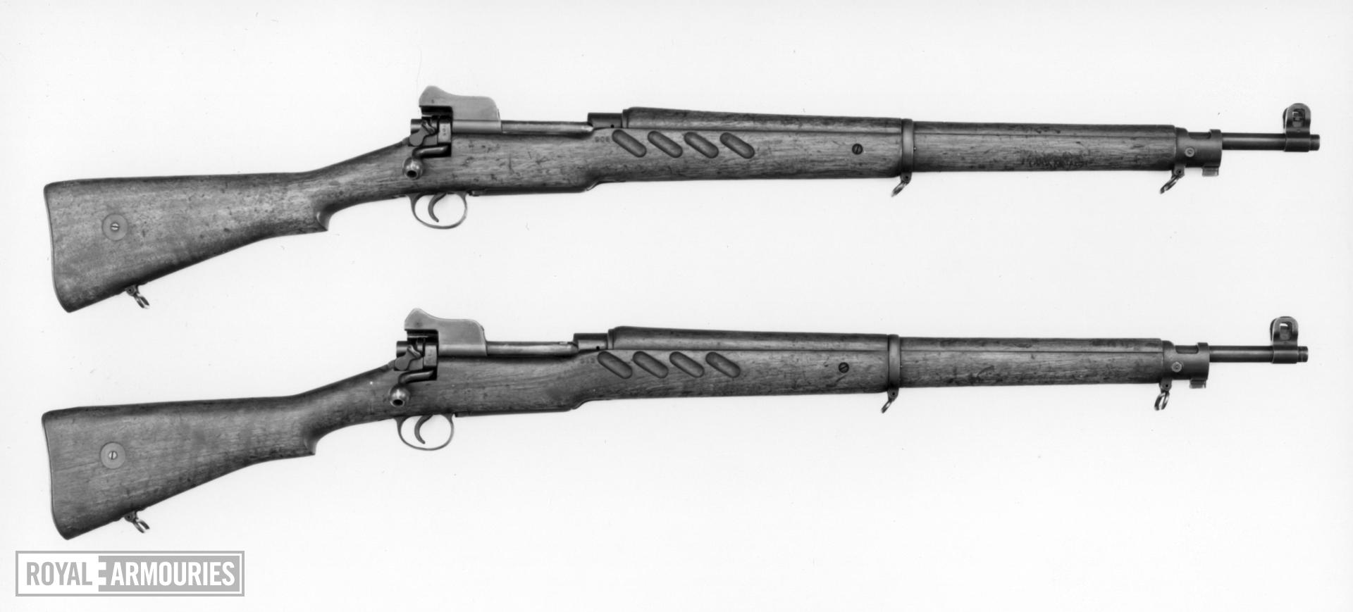 Centrefire bolt-action magazine rifle - Pattern 1913 Also known as the Patt 13 rifle.