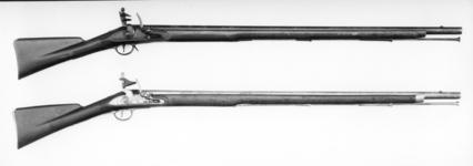 Thumbnail image of Flintlock muzzle-loading military musket - Model 1793 India Pattern (Type I)