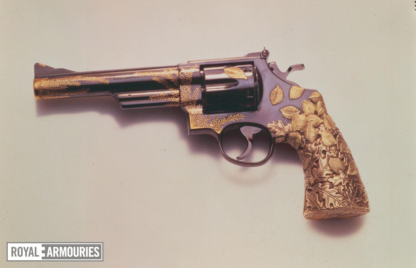 Centrefire six-shot revolver - The Tiffany Revolver Based on a Smith & Wesson Model 29