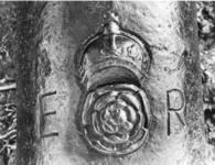 Thumbnail image of 4.3 in demi-culverin and carriage Made of iron Possibly cast at Wealden Carriage modern