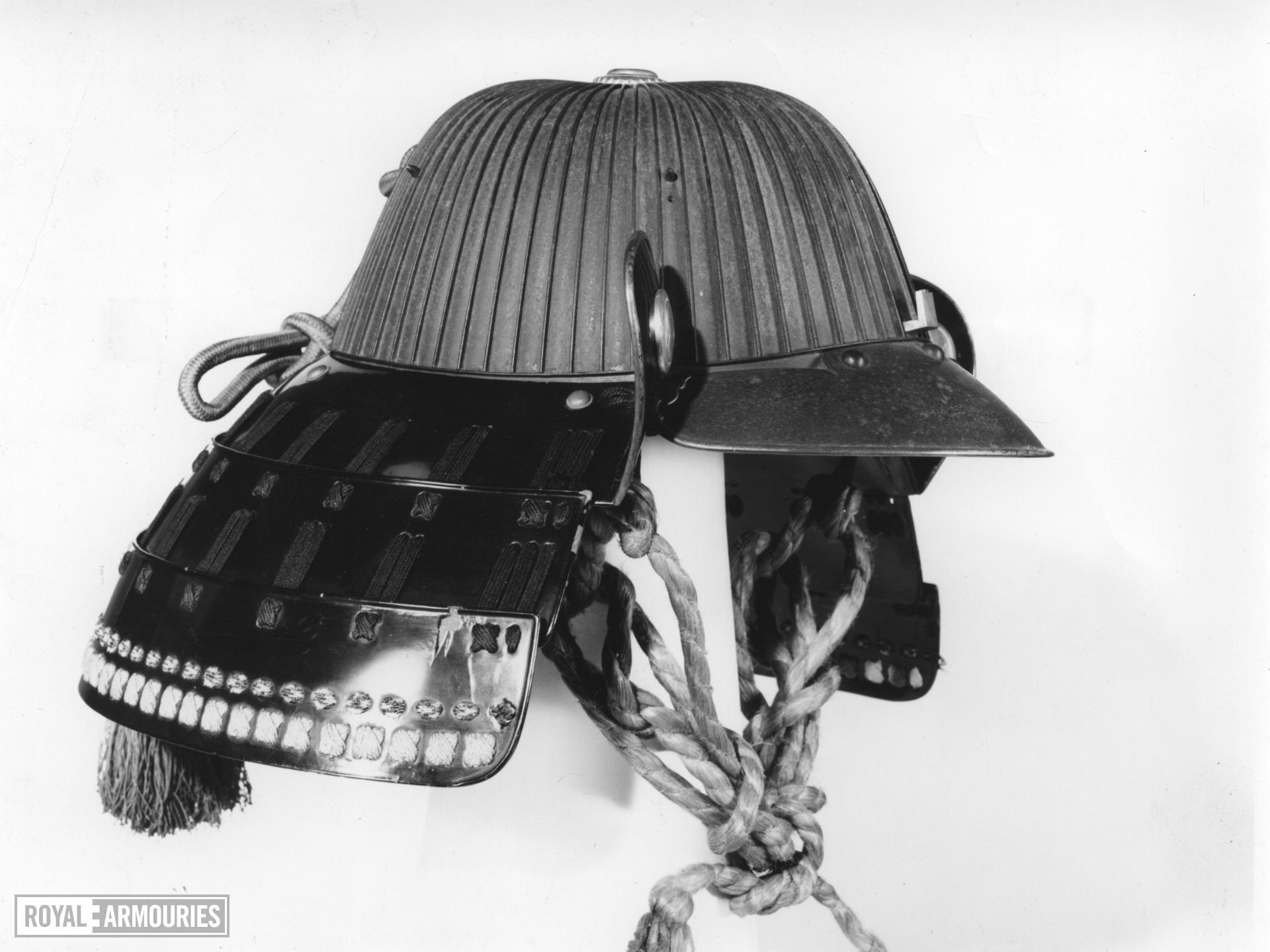Helmet (suji kabuto) By Saotome Ietada.