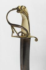 Thumbnail image of Sword and scabbard Naval Officer's sword and scabbard