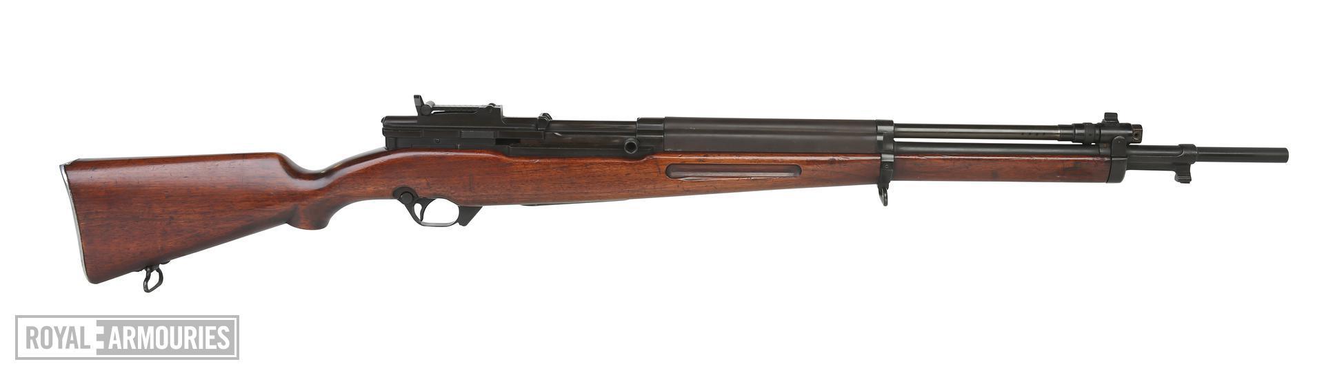 Experimental Saive SLEM-1. Centrefire self-loading rifle. PR.6621