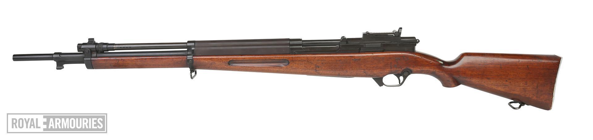 Centrefire self-loading rifle - Experimental Saive SLEM-1