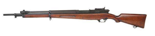Thumbnail image of Experimental Saive SLEM-1. Centrefire self-loading rifle. PR.6621