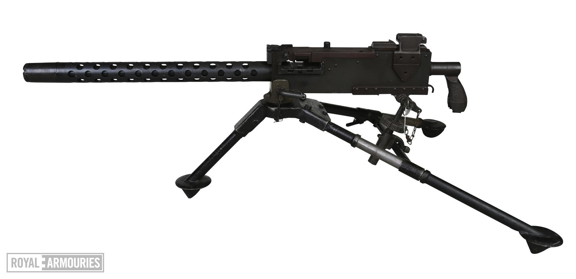 Centrefire automatic belt-fed medium machine gun - Browning Model 1919A4