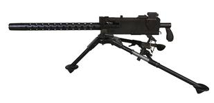 Thumbnail image of Centrefire automatic belt-fed medium machine gun. Browning Model 1919A4. XXIV.8862