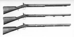 Thumbnail image of Flintlock muzzle-loading presentation rifle - By Tatham Part of a set of rifles made as official government gifts.