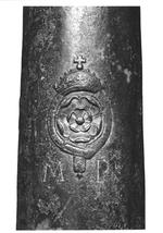 Thumbnail image of 3.75 in saker Made of bronze Cast by the Mayo brothers