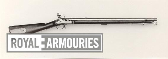 Flintlock muzzle-loading carbine - By Henry Nock With Nock screwless lock