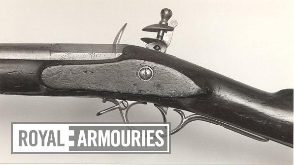 Flintlock muzzle-loading carbine - By Henry Nock