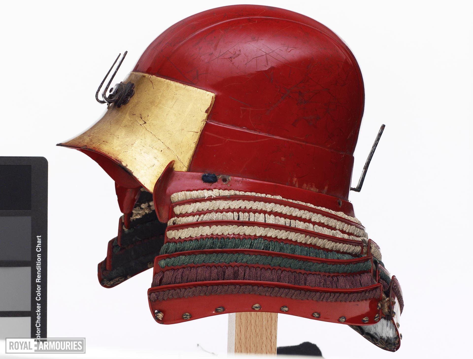 Armour (tosei gusoku) Red lacquered. Momoyama period
