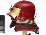Thumbnail image of Armour (tosei gusoku) Red lacquered. Momoyama period