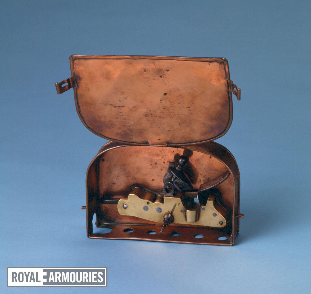 Cannon lock In a copper box