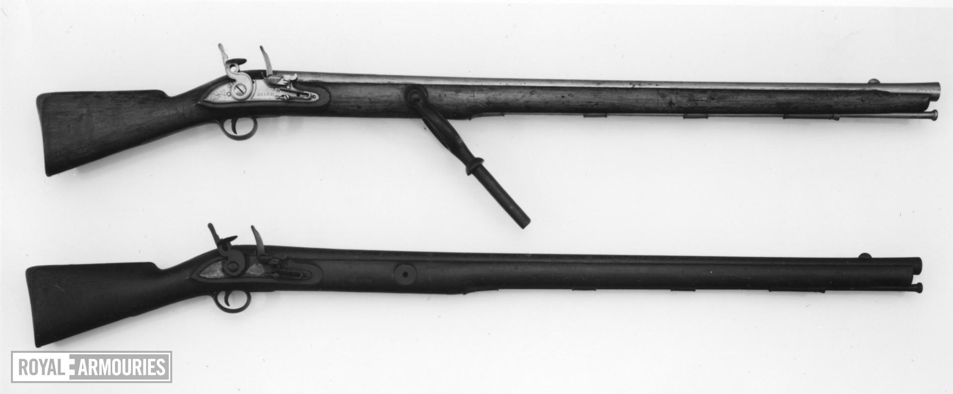 Flintlock wall gun - By Loder