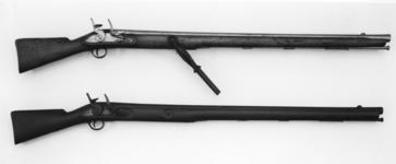 Thumbnail image of Flintlock wall gun - By Loder
