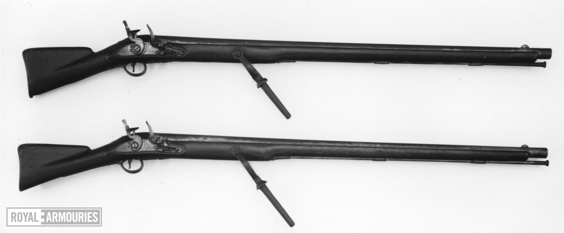 Flintlock wall gun - By Wilson (similar to XII.538 and 539)