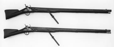 Thumbnail image of Flintlock wall gun - By Wilson (similar to XII.538 and 539)