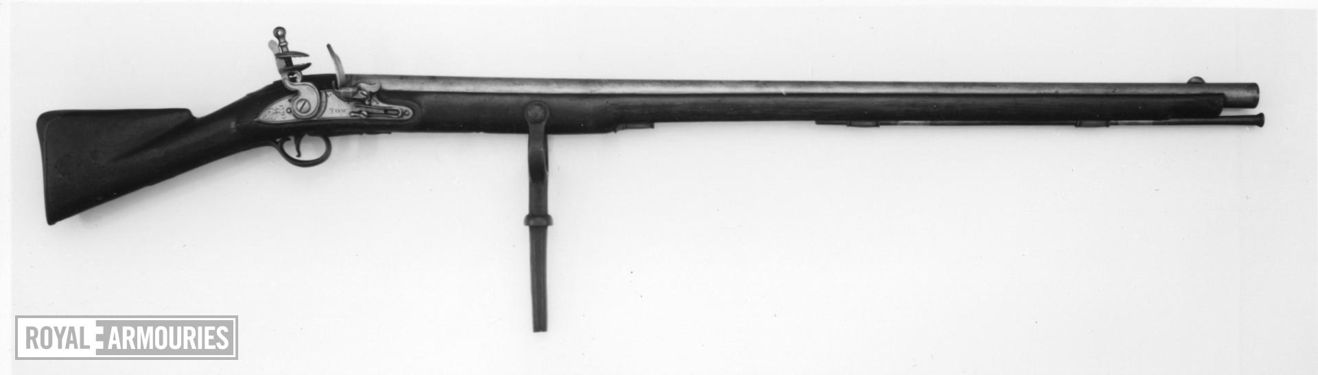 Flintlock wall gun - By Tow
