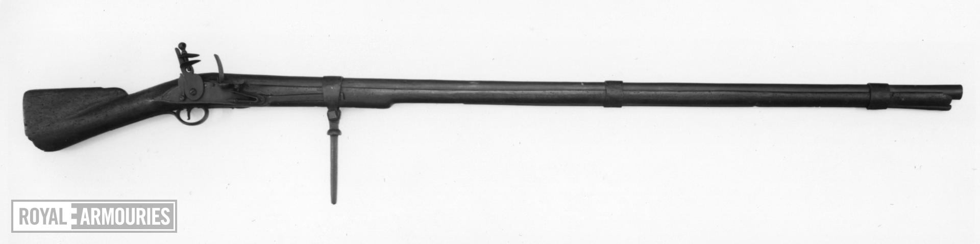 Flintlock breech-loading musket - Punt type For use in a punt or blind