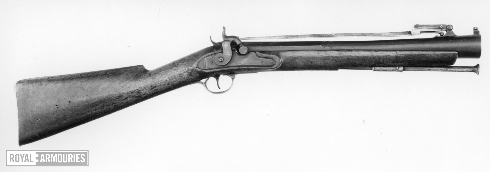 Percussion muzzle-loading blunderbuss - By Dempsey
