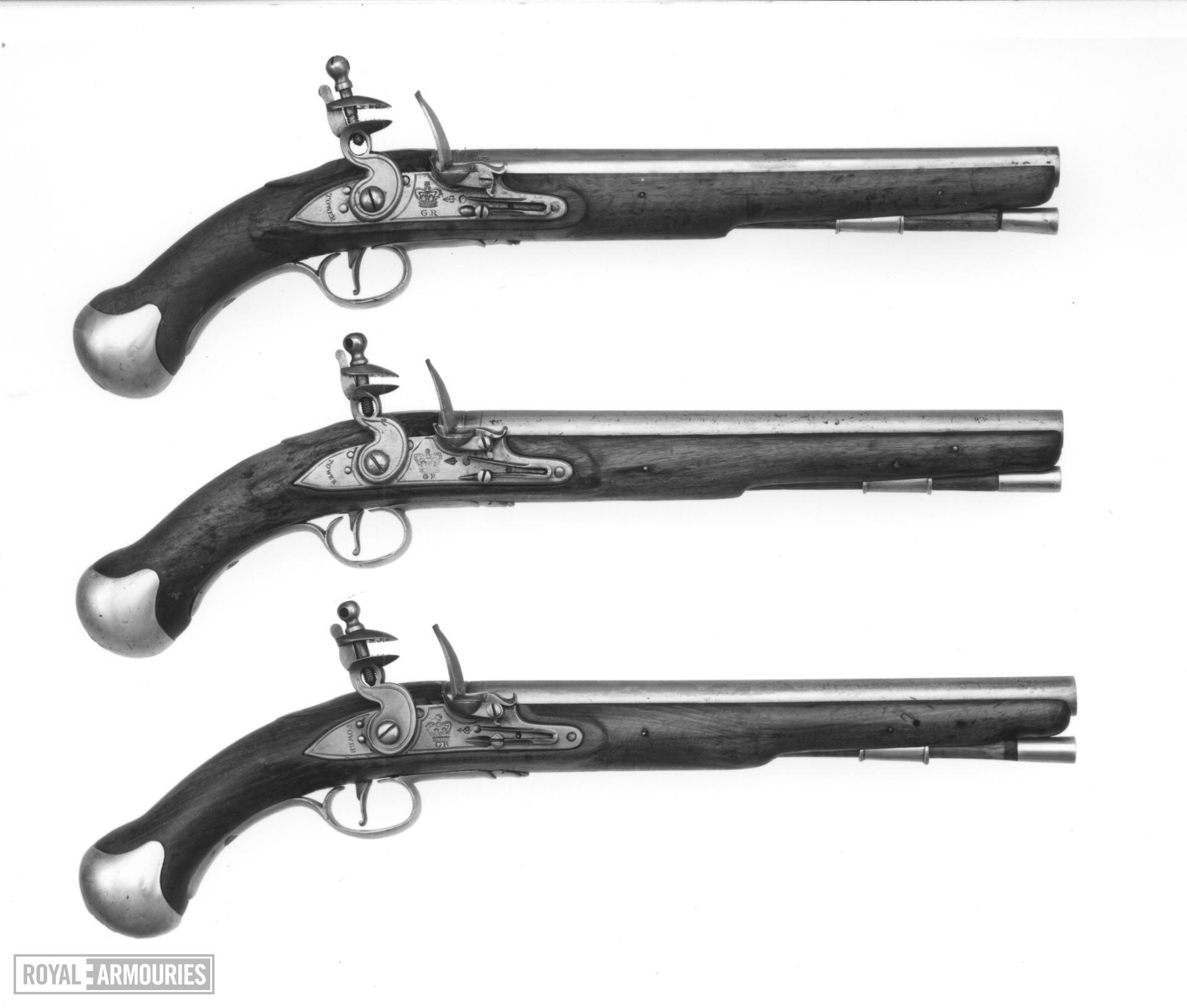 Flintlock pistol - Sea Service Pattern
