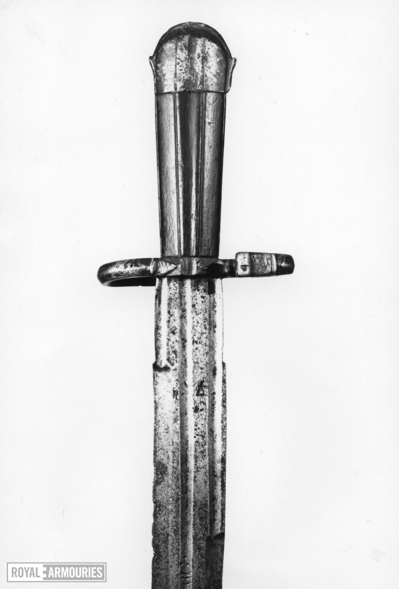 Sword Sword - inscibed Me Fecit Biscotto. 'Landesknecht' type.