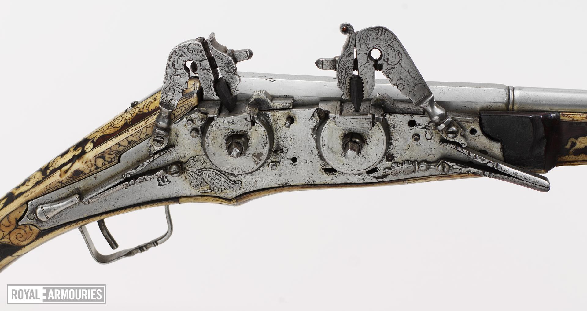 Wheellock superimposed pistol