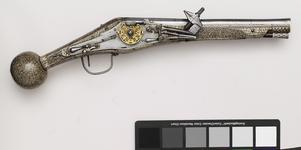 Thumbnail image of Wheellock holster pistol