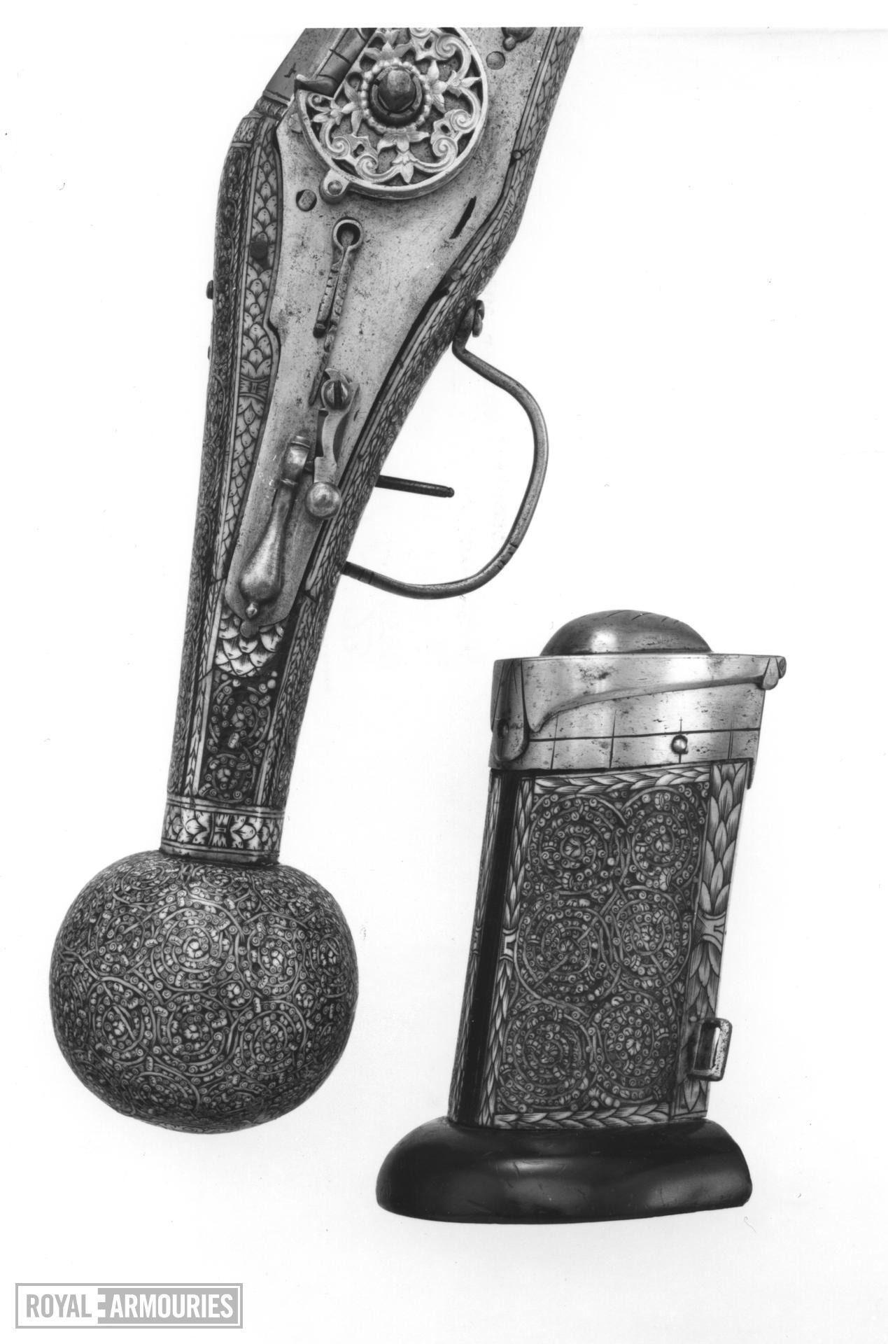 Wheellock holster pistol