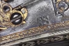 Thumbnail image of Wheellock holster pistol Lock by Wolf Stopler