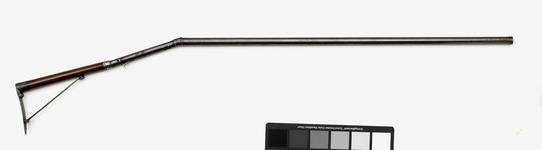 Thumbnail image of Percussion travelling gun - By Seetaram and Son Gunmaker to his HSS, ULWUR Cased with XII.1468