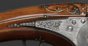Thumbnail image of Flintlock pistol By Lazarino Cominazzo One of a pair see XII.1563 Made for Ernst August, Duke of Saxe-Weimar-Eesenach