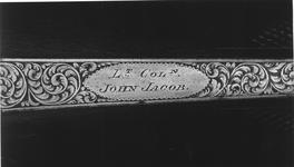 Thumbnail image of Percussion muzzle-loading double-barrelled rifle - By John Manton and Son For Lt.Col. John Jacob, Cased for case see XII.10637 A