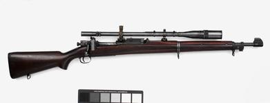 Thumbnail image of Centrefire bolt-action magazine rifle - Springfield Model 1903-A1 With Unertl scope