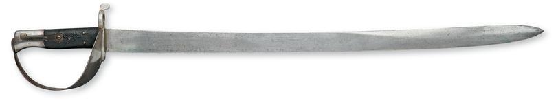 Thumbnail image of Bayonet Cutlass bayonet, Pattern 1858 for Naval rifle.