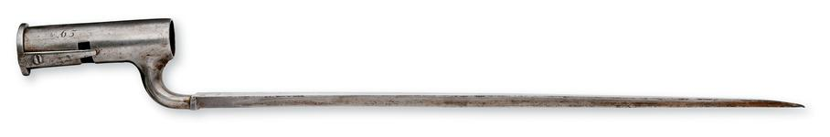 Thumbnail image of Bayonet Socket bayonet for East India Company With India Pattern spring catch.
