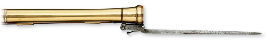Thumbnail image of Flintlock muzzle-loading blunderbuss - By Grice