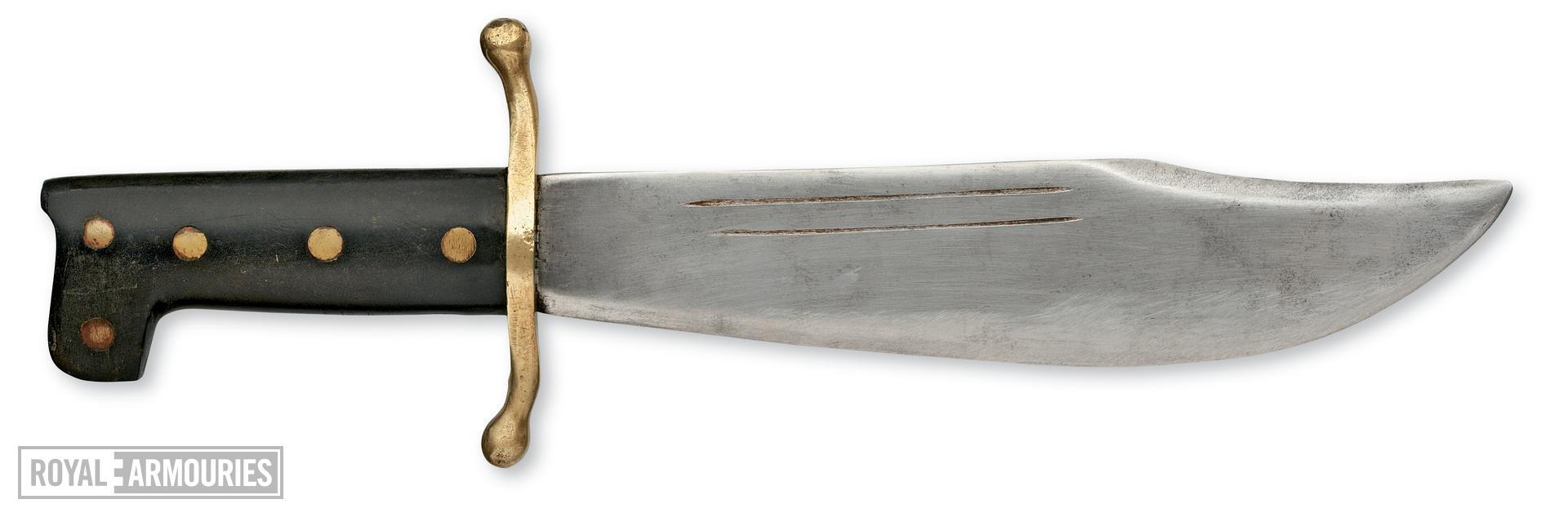 Knife and sheath V44 Survival knife and sheath