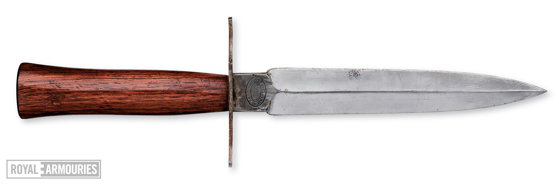 Trench dagger. French, 1914-18. Manufactured by Besset